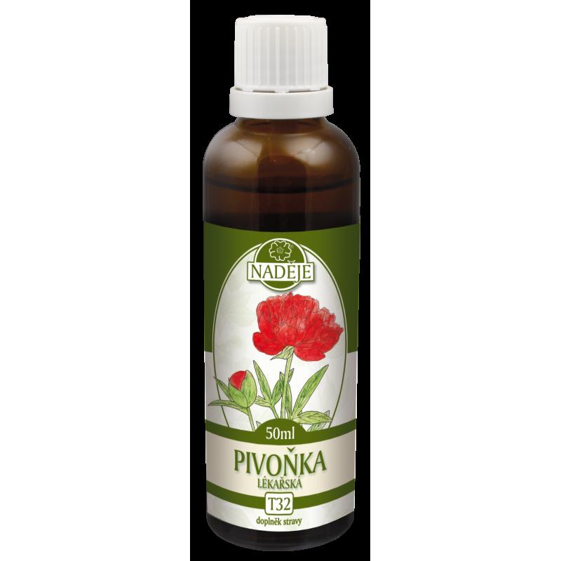 Levně Pivoňka - tinktura z rostliny