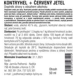 Kontryhel + červený jetel