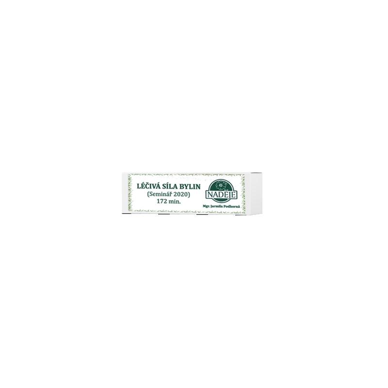 """Flash disk """"Léčivá síla bylin"""" (seminář 2020)"""