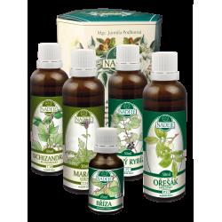 Doplněk z bylin pro celkové posílení organismu