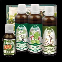 Doplněk z bylin pro udržování kvality pokožky