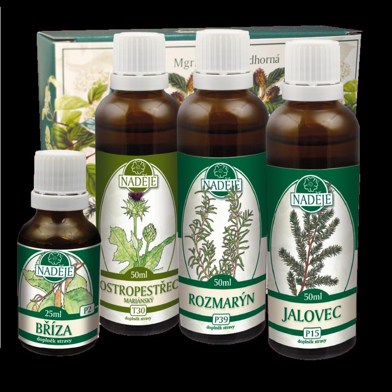 Doplněk z bylin jako pomoc pro zdravou funkci střevního a zažívacího traktu