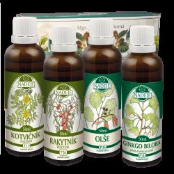Doplněk z bylin pro regeneraci mužského organismu